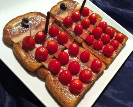 DW Dalek Ironside Toast Sandwich