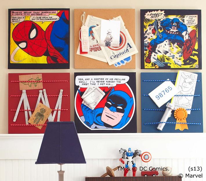 Comics Pin Board
