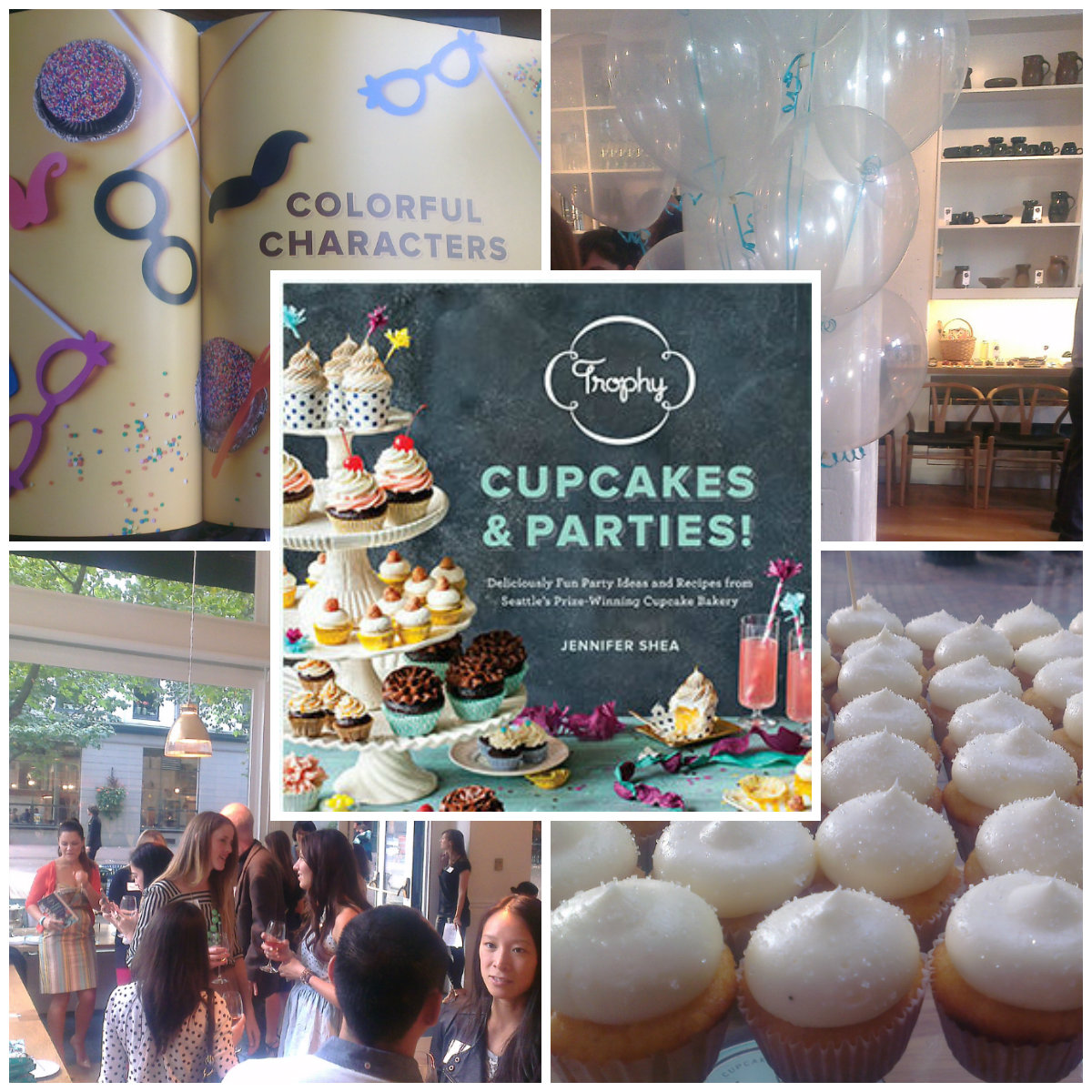 trophy cupcakes and parties book launch | the geeky hostess