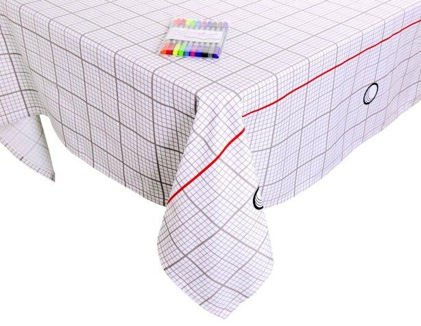 Grid Tablecloth