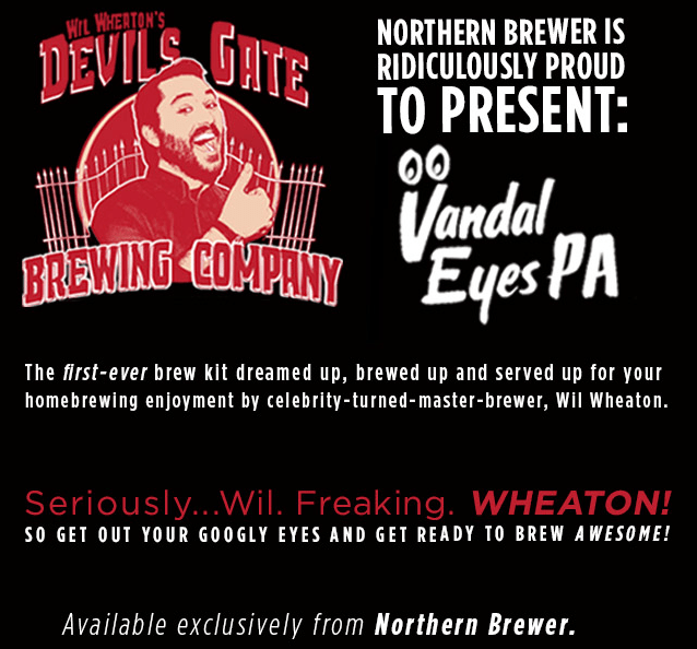 Wil-Wheaton-joins-Northern-Brewer