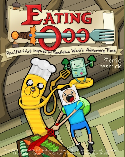 adventure time eating ooo cover
