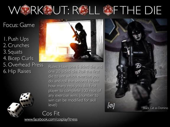 CosFit D20 Game