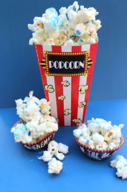 Doctor Who Candied Popcorn