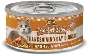 Thanksgiving Cat Food