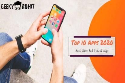 top 10 best useful apps 2020