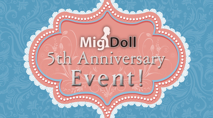 Migidoll 5th Anniversary Event ABJD Ball-jointed Dolls – New Doll and 30% Off Select BJD