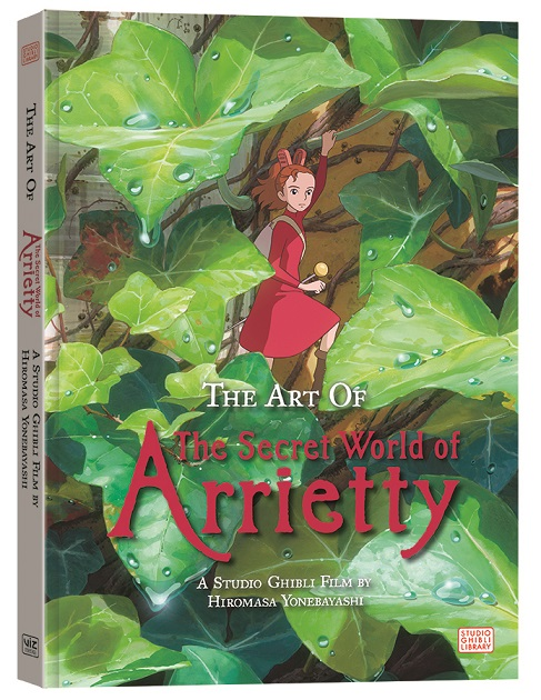 Viz Announces Studio Ghibli Secret of Ariettety Artbook