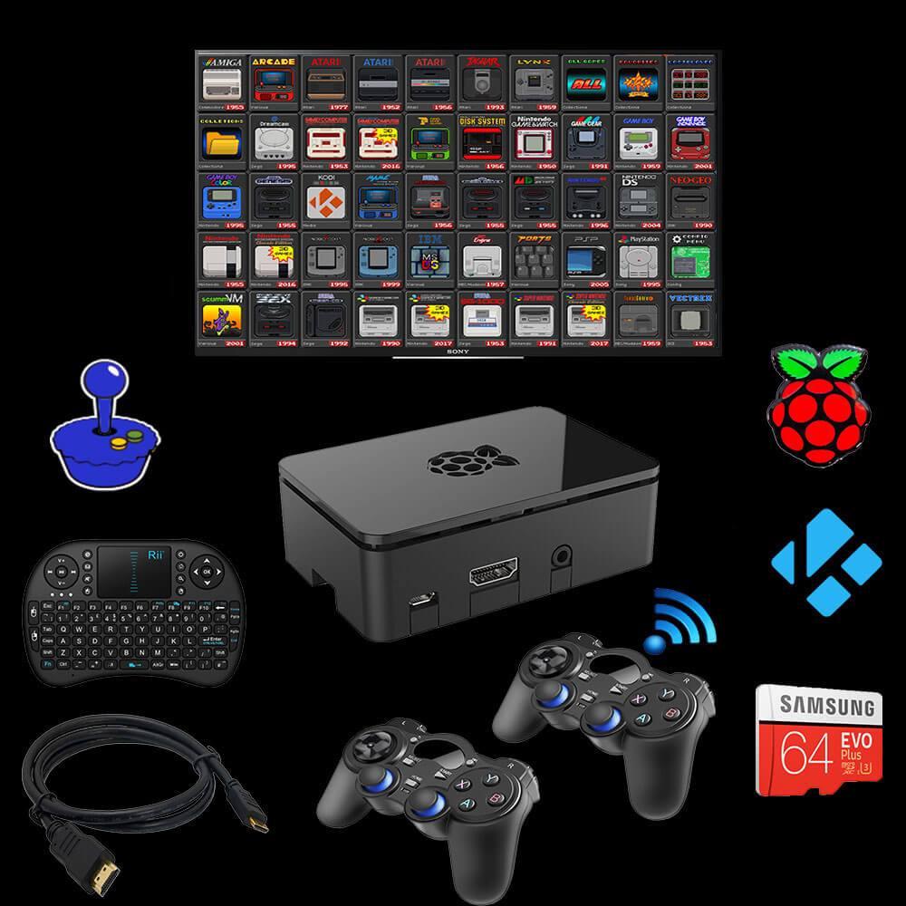 Retro Gaming House Retro Pie Emulation Station Raspberry Pi Review