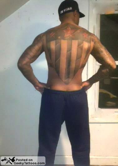 Full Body Side Profile Man