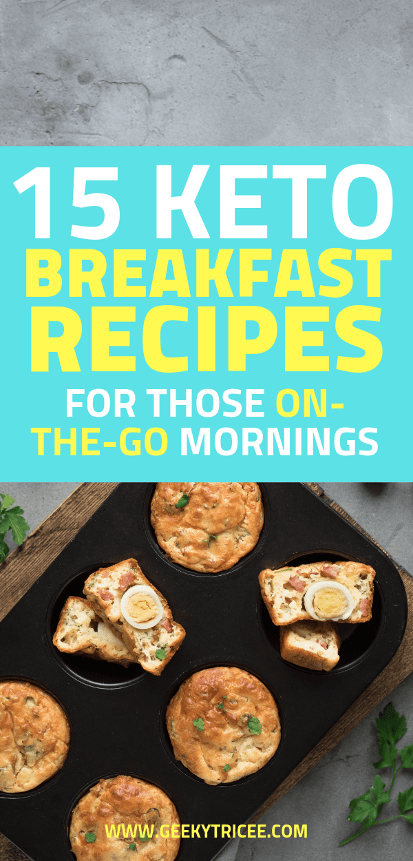 keto breakfast recipes for those on-the-go mornings