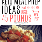 Keto diet meal prep ideas for weight loss