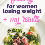 pin intermittent fasting for women losing weight