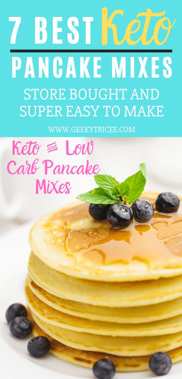 best keto pancake mixes