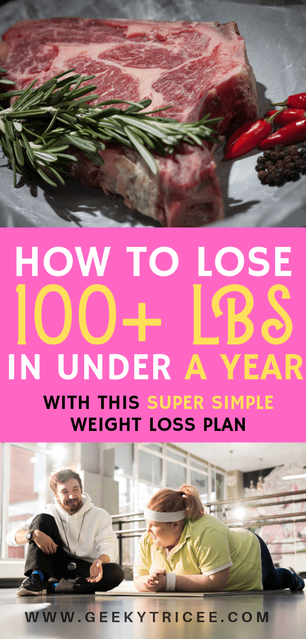 How to lose 100 pounds in under a year