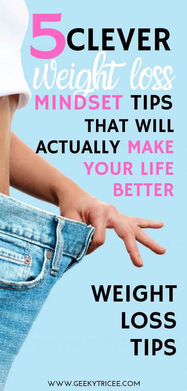 weight loss mindset tips