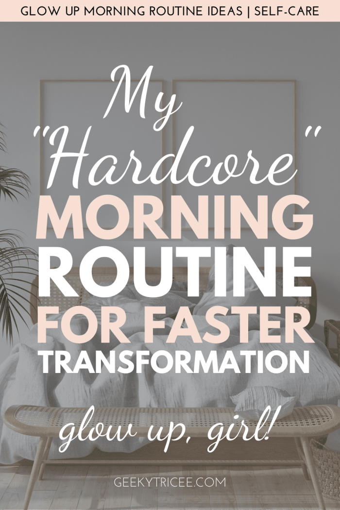 My Hardcore Morning Routine For Faster Transformation