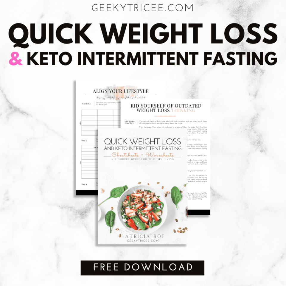 Quick weight loss and keto intermittent fasting free bundle