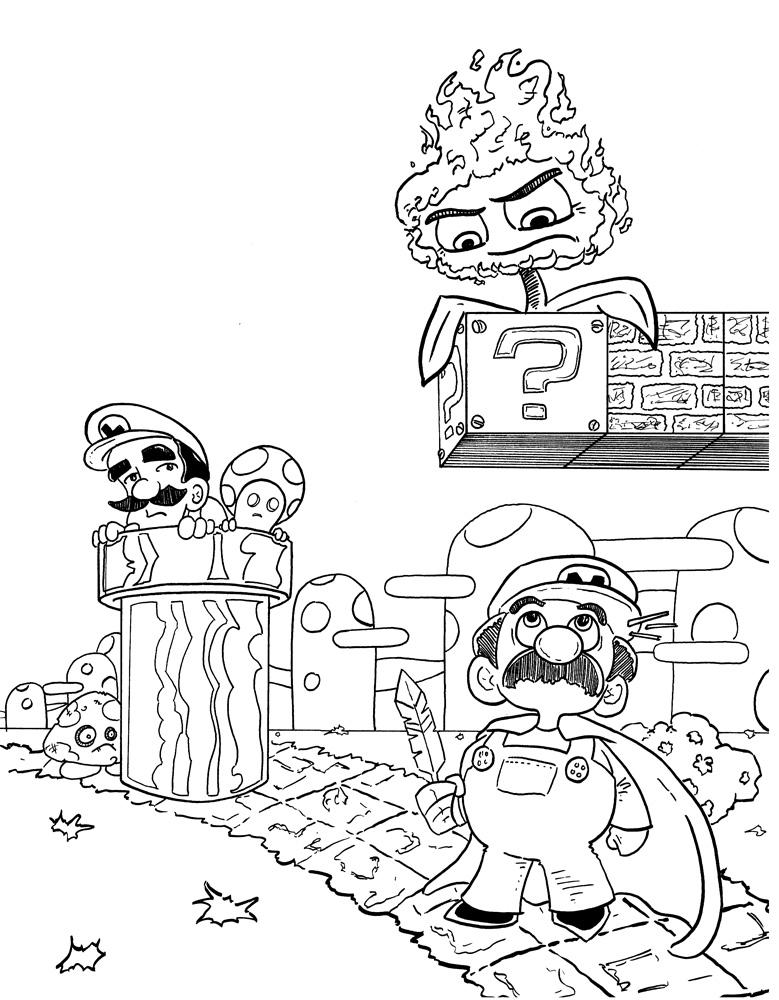 Digital Color Super Mario