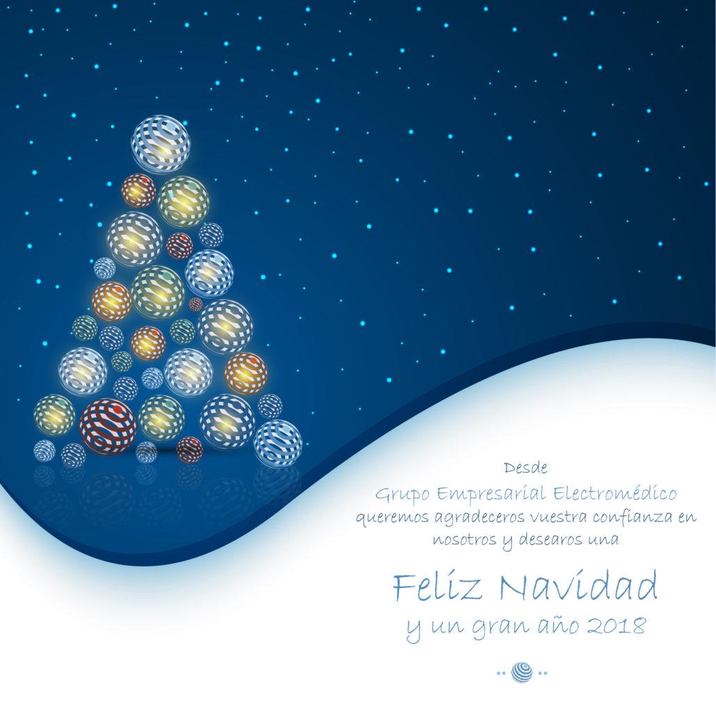 feliz navidad y próspero
