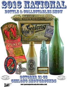2016 Geelong National Bottle and Collectables Fair Promotional Poster