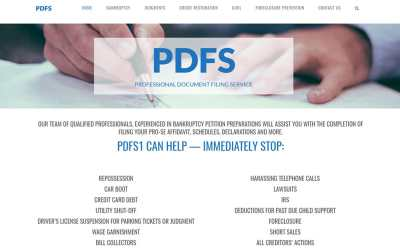 Professional Document Filing Service
