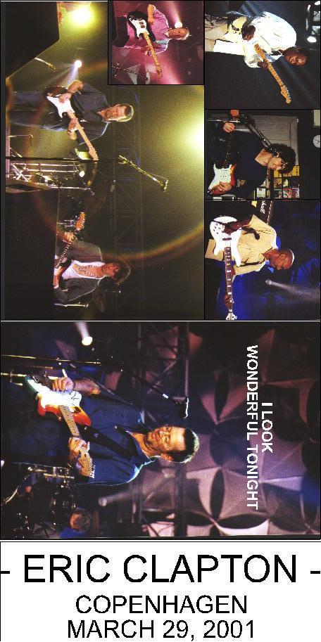 Eric Clapton  Copenhagen  March 29 2001