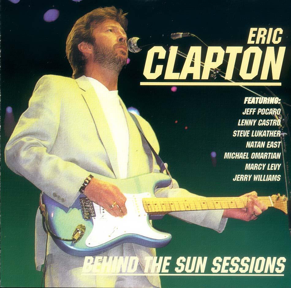 Eric Behind Clapton Sun