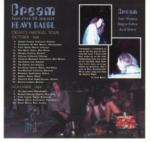Cream - Heavy Gauge Mid Valley Records 347
