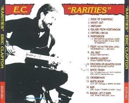 Eric Clapton Rarities ECR 001