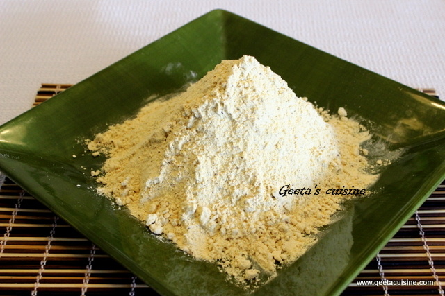 Sattu( roasted gram flour)