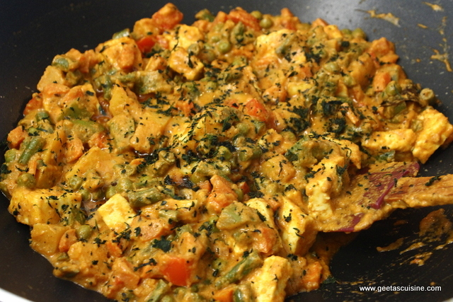 Mix veg korma without onion garlic geetas cuisine add forumfinder Images