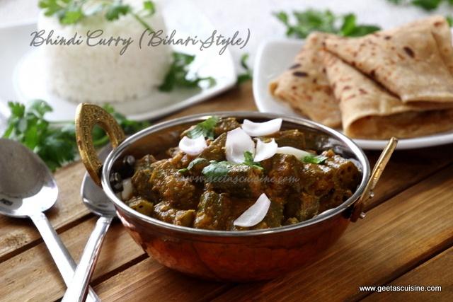 Bhindi Curry (Bihari Style)