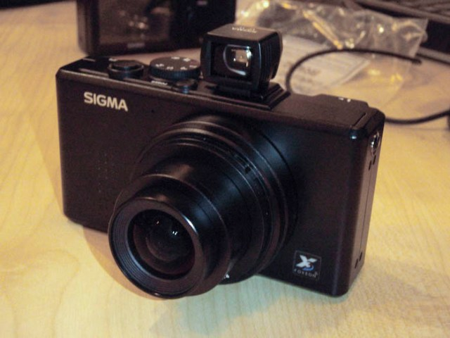 The Sigma DP-1 arrives
