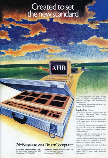 AHB Inpulse One advertising