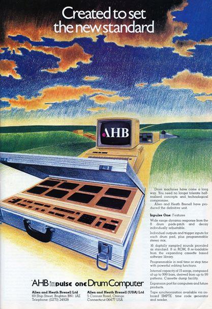 AHB Inpulse One advertising
