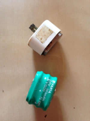 Replacement battery for AHB Inpulse One