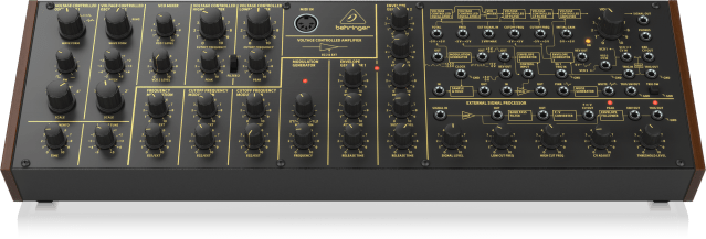 The Behringer K-2 - a clone of a Korg MS-20, not a mountain