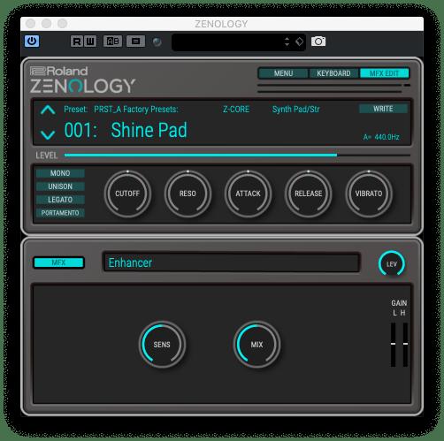 Roland Cloud Zenology sound pad