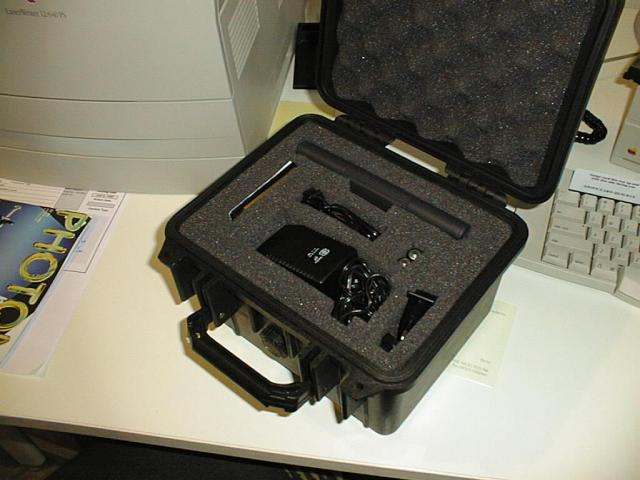 A Geofox One Professional with Peli case. I still have the case - the Geofox, RIP