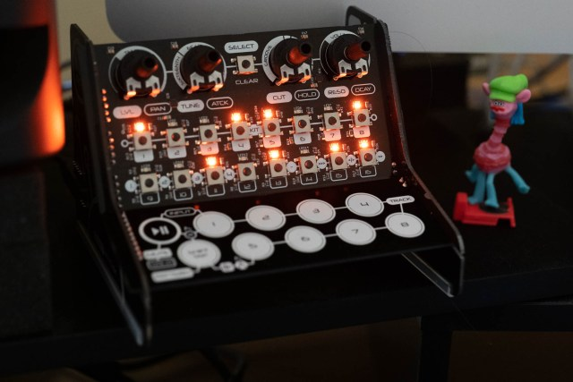 The Modal CRAFTrhythm DIY kit drum machine