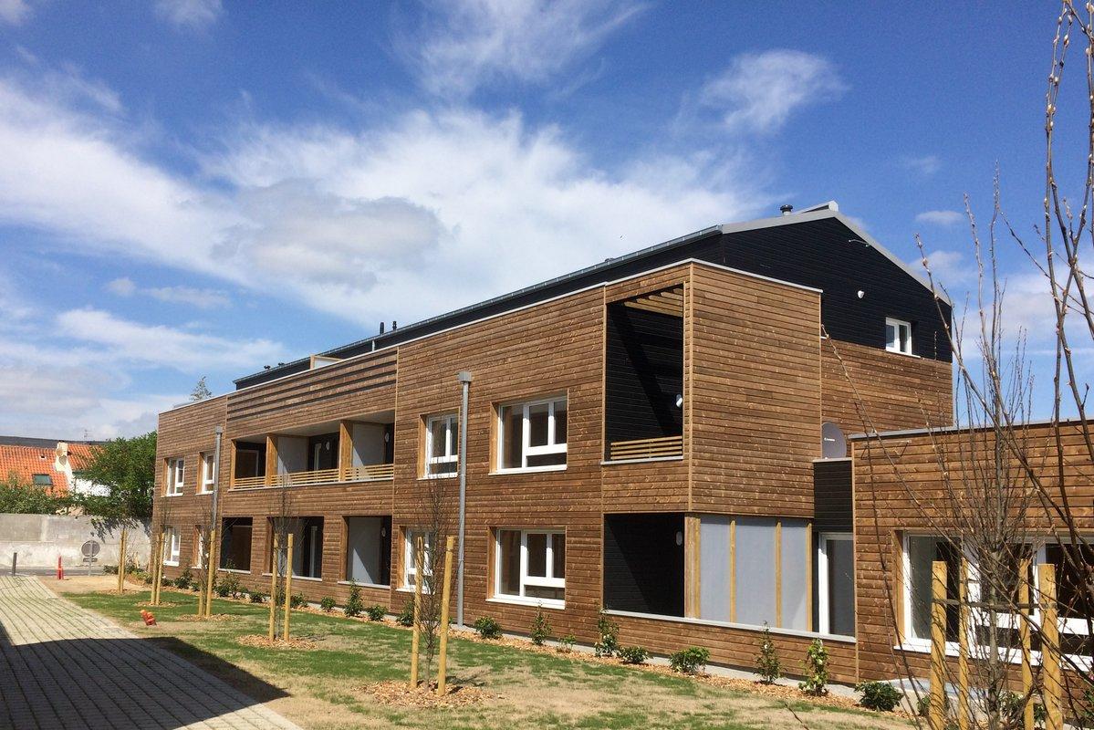 Construction De 30 Logements Rsidence Paul Bert Nantes