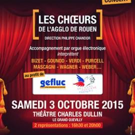 Les choeurs de l'agglo de Rouen soutiennent le Gefluc