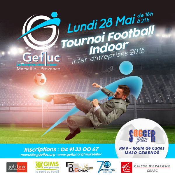 Tournoi interentreprises de foot indoor
