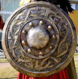 escut (zigzagat?) de la geganta Norilca de Mataró