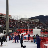 "Zielstadion ""Rosa Khutor"" Alpine Center"