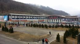 Bahnhof in Krasnaja Poljana