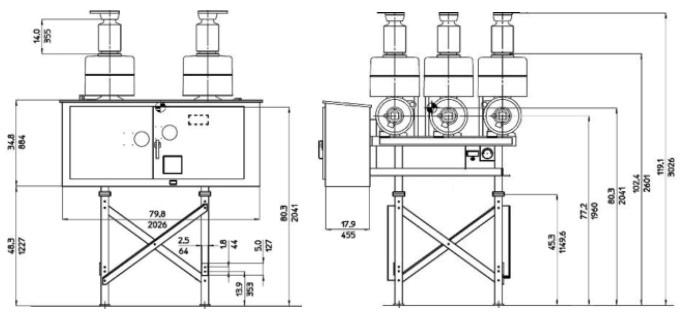 Dead Tank Circuit Breakers : DT1-38 Dead Tank Circuit