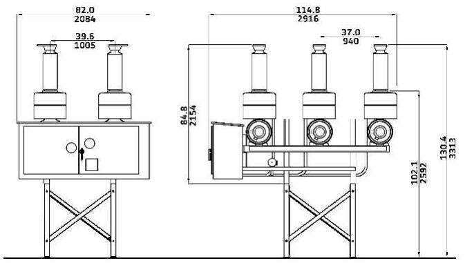 Dead Tank Circuit Breakers : DT1-72.5 Dead Tank Circuit
