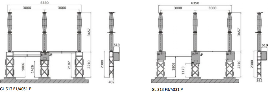 GL313 Live tank circuit breakers from 145 kV up to 170 kV